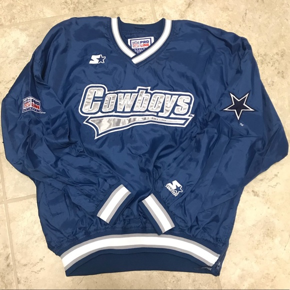 Dallas Cowboys Starter Pullover. M 5a4e4ed18af1c5217b00a50e 8b904efb9